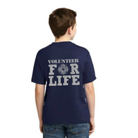 Volunteer For Life -  - Youth Heavy Cotton T